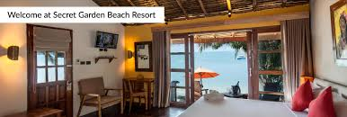 secret garden beach resort restaurant and beach bar in koh samui