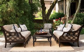 Black And White Patio Furniture Black Sands Lexington Home Brands