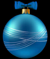 large blue christmas ornaments transparent silver ball ornament