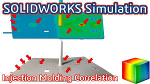 injection molding simulation and physical correlation youtube