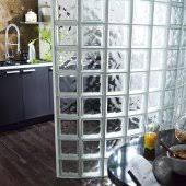 brique de verre cuisine cloison brique de verre comment l adopter