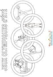 Coloriage Jeux Olympique dété dessin gratuit à imprimer