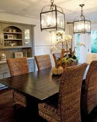 Dining Room Wicker Chairs Dining Room Decorating With The Wicker Chairs Home Interior