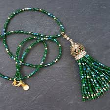 emerald green fashion necklace images Shop emerald green statement necklace on wanelo jpg