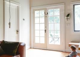 how to clean yellowed white doors painting our doors black yellow brick home
