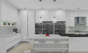 kitchen design details penang dry kitchen design kitchen design supplier from p2d studio