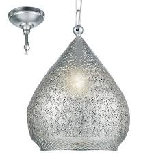 Antique Silver Pendant Lights Eglo 49716 Melilla Antique Silver Pendant Light