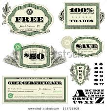 royalty free vector money frames and ornaments easy 136255691