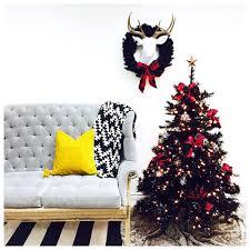 Black And Gold Christmas Tree Decorations Black Christmas Tree Lilyshop By Jessie Daye