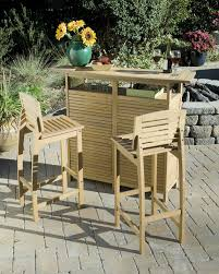 home styles bali hai outdoor bar stool natural teak walmart com