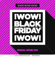 black friday pink black friday sale banner your promotion stock vector 492130954