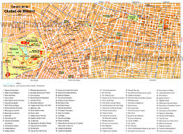Coyoacan Mexico Map by Mexico City Map Attractions My Trip To Mexico 1 Pinterest