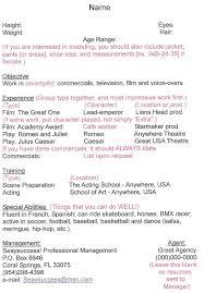resume hairdresser resume