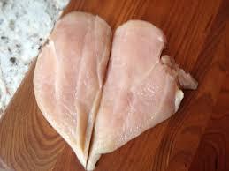chicken picatta cooking in flip flops