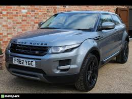 range rover coupe land rover range rover evoque diesel coupe 2 2 ed4 pure 2wd
