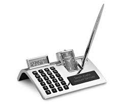 Desk Pen Stand Calculator Pen Stand
