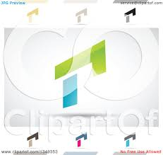 r logo clipart abstract letter r icons with shadows 8 royalty free