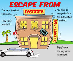 escape from hotel california team building escape game