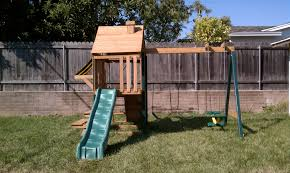 diy backyard playground home design and idea