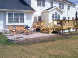 backyard patio deck ideas home design
