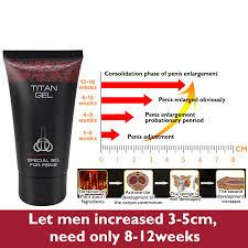 3pcs original russian titan gel penis enlargement xxl strongman