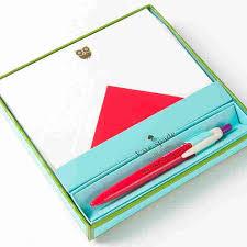 red owl pen u0026 flat correspondence card set by kate spade new york