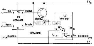 automations u003e relay circuits u003e solid state latching relay circuit