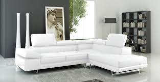 canapé angle blanc canape angle cuir blanc