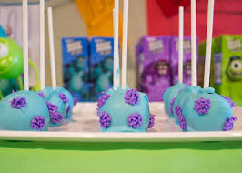 monsters cake pops birthday monsters birthday party