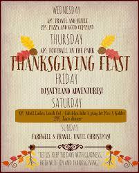 thanksgiving dinner invitations rae u0027s corner november 2015
