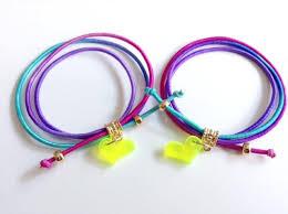 bracelet elastic cord images Glowing bracelet purple elastic cord bracelet summer jewelry jpg