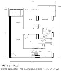 the inspira floor plan ksl d inspire residence nusa bestari johor bahru malaysia