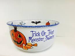 halloween candy bowl bella casa