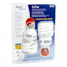 cfl ceiling fan bulbs bright effects 2 pack 13 watt minitwist cfl ceiling fan bulbs