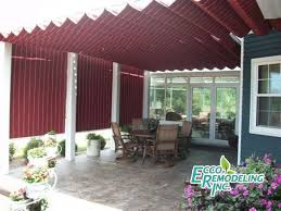 Aristocrat Awnings Reviews Shades For Existing Pergolas Ecco Sunroom And Awning