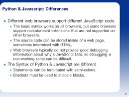 introduction to javascript for python programmers ppt download