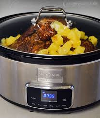 crockpot cooker spiral ham with pineapple