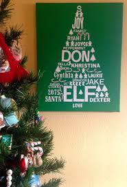 personalized christmas subway art u2026 gift the seasonal home