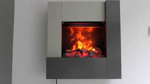 new minuscola horus electrical fireplace youtube