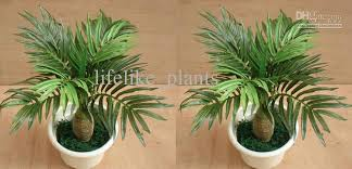 2017 12 stems mini palm trees artificial plants trees garden