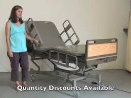 Hill Rom Hospital Beds Hill Rom Centra 850 Hospital Bed Demo Reconditioned Youtube