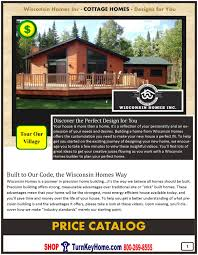 Prefab Homes Prices Cottage Modular Home Prices From Wisconsin Homes Inc Cottage And
