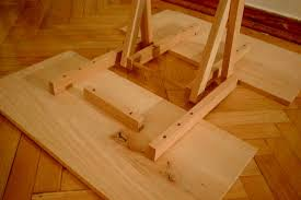 Wood Folding Table Plans Table