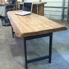 live edge computer desk live edge furniture made in the usa custom