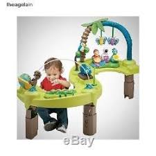 infant activity table toy evenflo infant active exersaucer activity table bouncer play