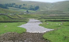 River Bed Definition Dry Yorkshire Dales Stream Becomes River In Two Minutes Daily