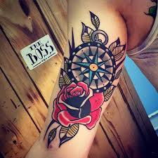 image result for compass and anchor tattoo things i love