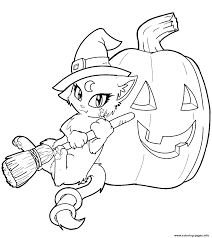 coloring pages for halloween kitty cat free halloween s for kindergartenc4bf coloring pages