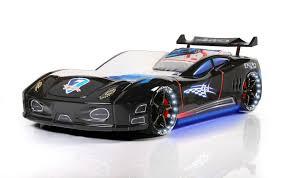 enzo e2 80 93 black race car beds for kids buy online all lights