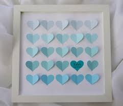 baby shower guest book alternative ombre baby shower gift